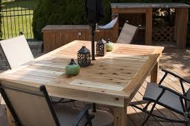 diy yard furniture. 62 Most Beautiful Diy Patio Table Large Outdoor Dining Making A Farmhouse Furniture Plans Wood Insight Yard E