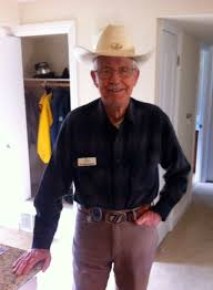 92 year old allen rasmussen is known as cowboy at the terraces
