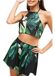 Gocgt <b>Women's Summer</b> Split Maxi Dress <b>Sexy Two Piece</b> Outfits ...