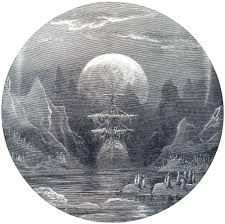 gustave dore illustration for title page to the rime of the gustave dore illustration for title page to the rime of the ancient mariner by s t coleridge