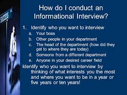 How To Conduct An Informational Interview Maximizing Your Work Abroad Experience Agenda What Is An