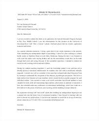 Cover Letters Education Resume Bank