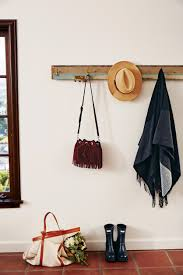 diy reclaimed wood coat rack