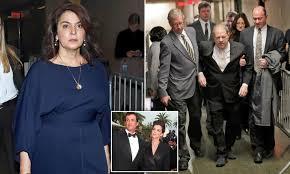Harvey Weinstein arrives at court to face Sopranos actress ...