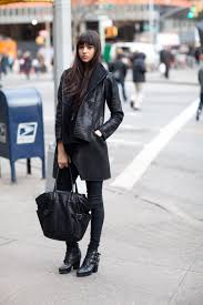 taylor marie hill street style photography by abbot kinney catalina llanes black on black catalina llanes black on black leather jacket