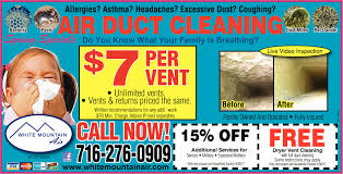 white mountain air air duct cleaning services ads from buffalo white mountain air technology ads from buffalo news