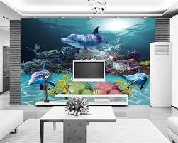 Beibehang 3d Behang Custom Muurschildering Behang 3d Onderwater