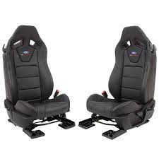 ford performance recaro seat leather black pair fastback 2018 2019