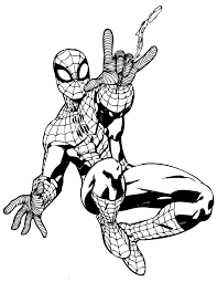 Small Picture Spiderman 2 Coloring Pages Beautiful Spiderman Coloring Pages