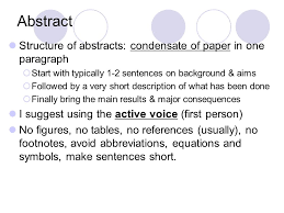 Do research papers use first person