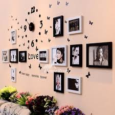 modern wall decals photo frame living