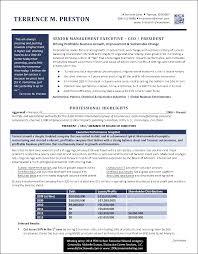Award Winning Resumes Best Of Free Resume Templates Ceo Resumes