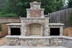 building outdoor fireplace garden design diy outdoor brick fireplace