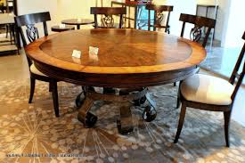 56 round dining table ethan allen round dining table