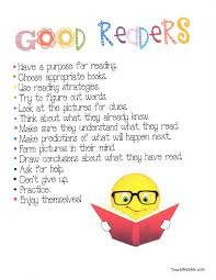 What Good Readers Do Chart Good Readers Anchor Chart Classroom Freebies