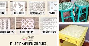 image stencils furniture painting. diy painting stencils image furniture u
