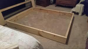 Diy King Platform Bed Platform Bed Diy King I Nongzico