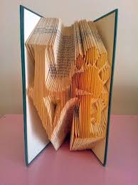 book folding pattern love with paw free tutorial by bookartco