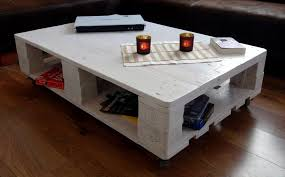 pallet furniture coffee table. low cost wooden pallet white coffee table with wheels furniture