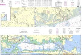 Noaa Intracoastal Waterway Charts Noaa Chart 11322 Intracoastal Waterway Galveston Bay To Cedar Lakes