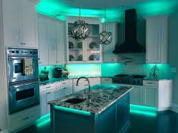 Led Kitchen Lighting Ideas Full Color LED Accent Lighting Great For Kitchens And Man Caves By RailTech Led Kitchen Ideas E