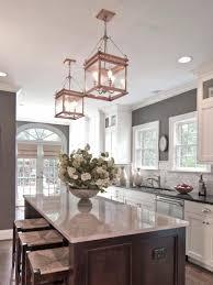 glass kitchen lighting. Kitchen Island Light Fixtures Green Strawberry Motif Napkin Silver Stainless Steel Chimney Countertop White Round Glass Bowl Lighting H