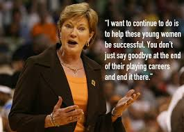 Pat Summitt Quotes Classy Pat Summitt Quotes Inspirational Words By UT Head Coach Heavy