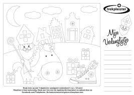 Sinterklaas Kleurplaat Maak Kans Op Een Speelgoed Cadeaukaart Van