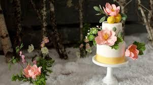 gluten free wedding cake. vegan and gluten-free fondant wedding cake with tulip sugar flowers gluten free t