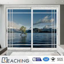 latest design hot aluminum frame glass sliding door for terrace