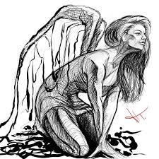 Tetovaniolomouc Tetovani Tattoo Andel Angeltattoo Angel G