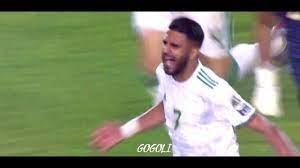 Ryad Mahrez Free Kick Vs Nigeria - YouTube