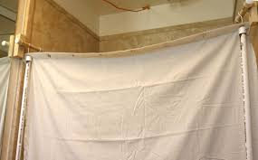 shower stall curtain rod jcpenney shower curtains shower stall curtains