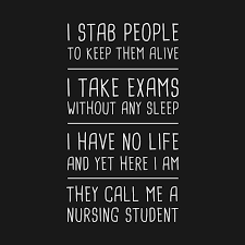 Funny Nursing Student Nursing School Quote Nursing School T Delectable Funny Nurse Quotes