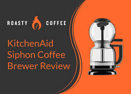 This electric siphon brewer operates with the flip of a switch and no guesswork. Kitchenaid Siphon Coffee Brewer Review Simplicity And Convenience