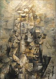 through his collaboration with picasso georges braque