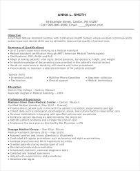 10+ Medical Assistant Resume Templates - Pdf, Doc | Free & Premium ...