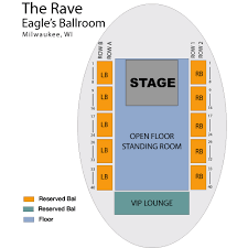 The Rave Milwaukee Seating Chart Eagles Club The Rave Eagles Ballroom Milwaukee Tickets