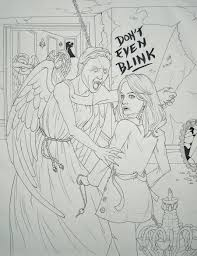 From Doctor Who Coloring Pages Weeping