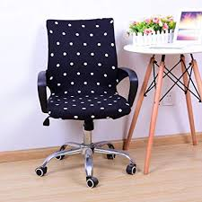 computer chair slipcover. Modren Slipcover Yiwant Stretch Removable Washable Office Chair Cover Protector Seat  Slipcover For LowBack Computer On R
