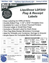 Flag And Receipt Labels Small Laser Lfd200