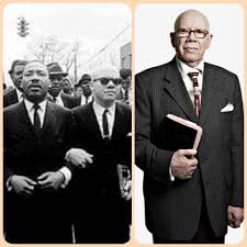 """Confident Albino Brothers and Sisters - Dr. Martin Luther King walked the  streets of Selma arm and arm with albino pastor: Rev. Jesse Douglas Sr.;  formerly known by the media as """"unidentified"""