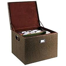 hanging file box. G.U.S. Decorative Office File And Portable Storage Box For Hanging Folders Letter Or Legal, Woven G