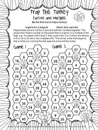 Thanksgiving Math Games Fourth Grade: Fun Thanksgiving Activities ...