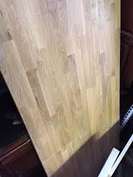 oak butcher block countertop remnant
