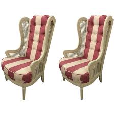 wingback chairs for sale. Interesting Sale Pair Of Vintage Caned Wingback Chairs For Sale With U