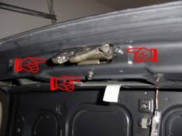 untitled 5 remove the three t25 torx screws from the trunk lock these are pointed at to the right 6 unhook the actuator and remove the wiring harness