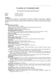 System Administrator Resume Pdf Free Resume Example And Writing