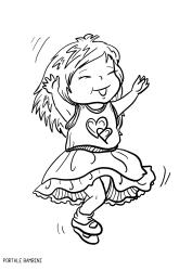 Disegni Di Bambine E Ragazze Da Colorare çocuk Sketches Color