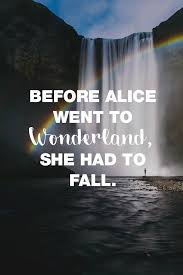 Visual Statements Before Alice Went To Wonderland She Hadt To